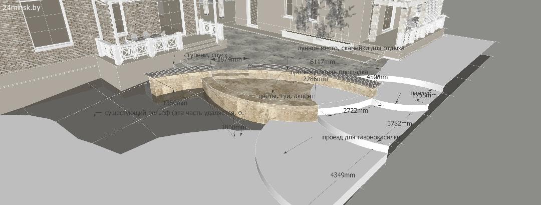 проект забора, проект подпорной стенки, расчет материалов