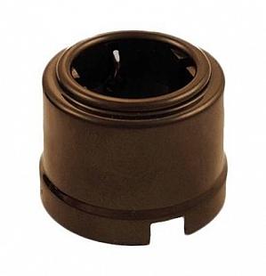 Розетка Bironi, коричневый