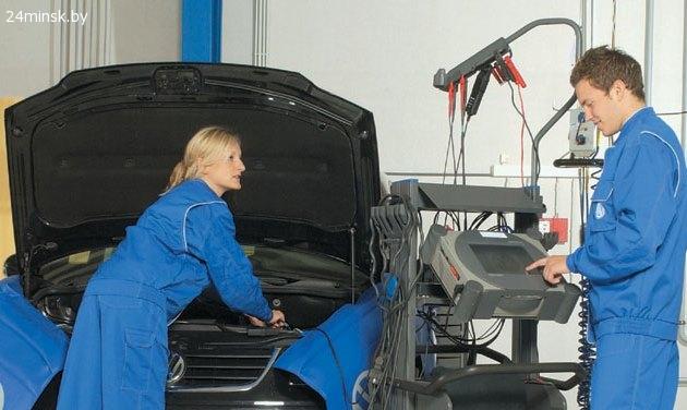 Техобслуживание Volkswagen в Минске