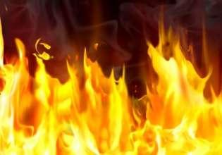 На Мозырской при пожаре в гараже погибли два человека