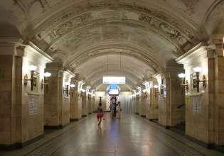 Станция метро «Октябрьская» временно закрыта для пассажиров