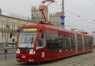 С 15:00 до 16:00 на Логойском тракте не будут ходить трамваи № 5, 6, 11