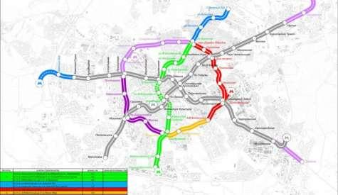 В Минске утвердили названия станций четвертой линии метро